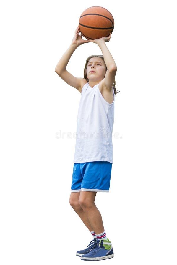 Teen sportsman stock photo