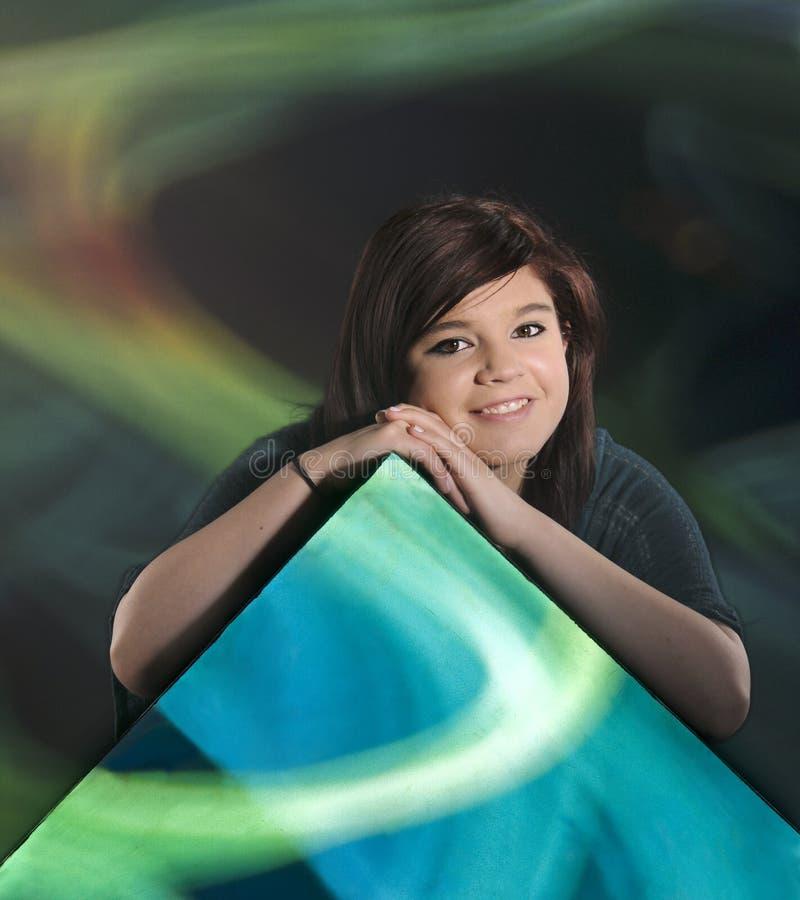 Download Teen Swirl stock image. Image of teen, happy, attractive - 24691619