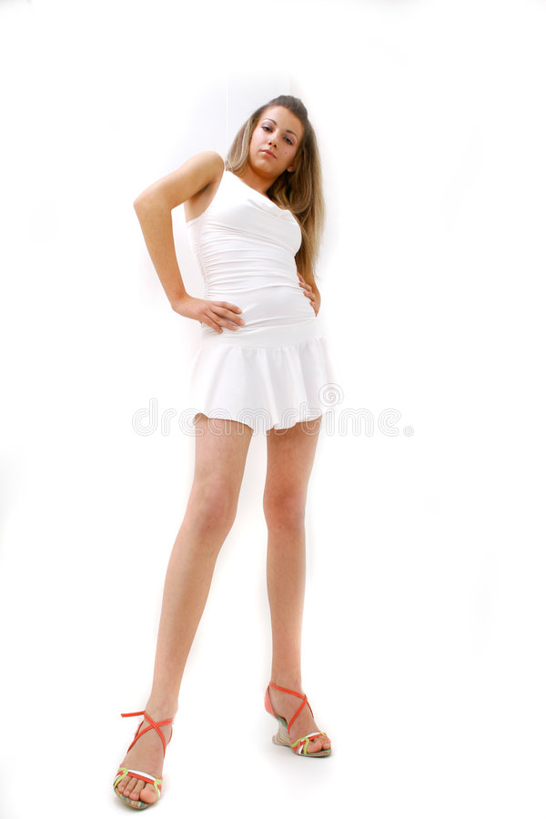 Download Teen Taken Aback stock photo. Image of shocked, shoes - 1420616