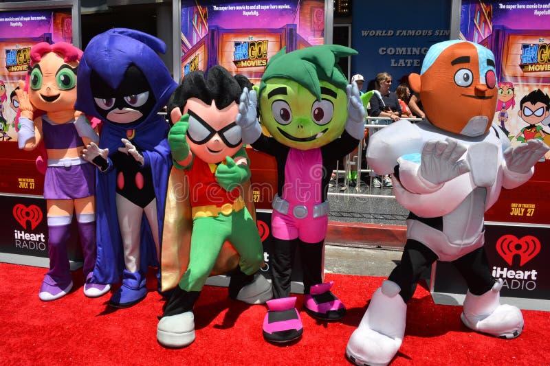 Teen Titans foto de stock