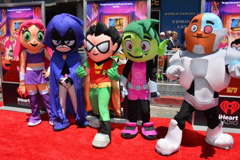 Teen Titans imagem de stock royalty free