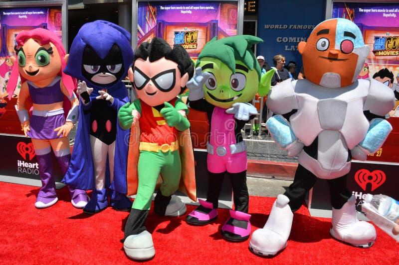 Teen Titans fotografie stock libere da diritti
