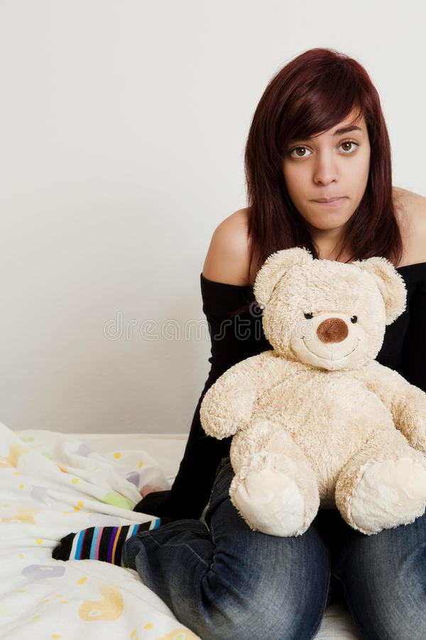 Download Teen With Toy Royalty Free Stock Photography - Image: 11910387