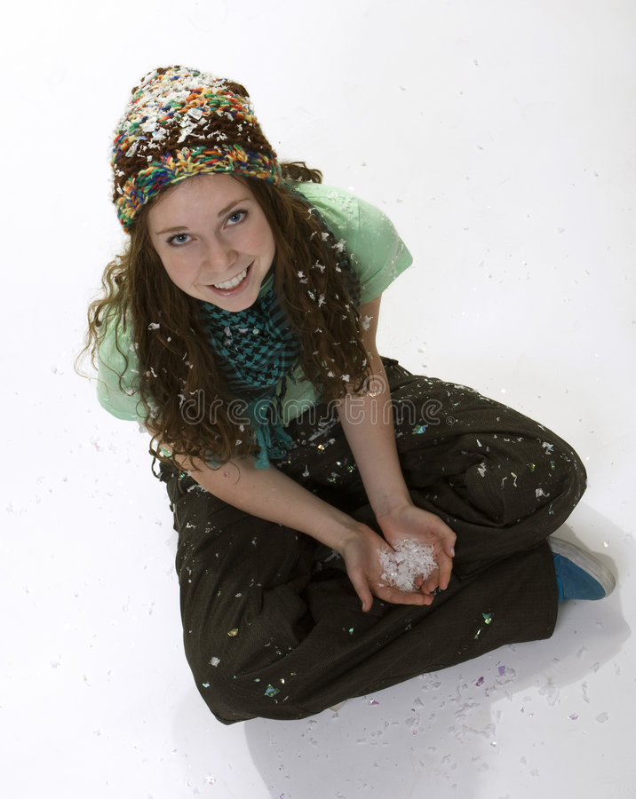 Download Teen Winter Style stock image. Image of perspective, caucasian - 7265625