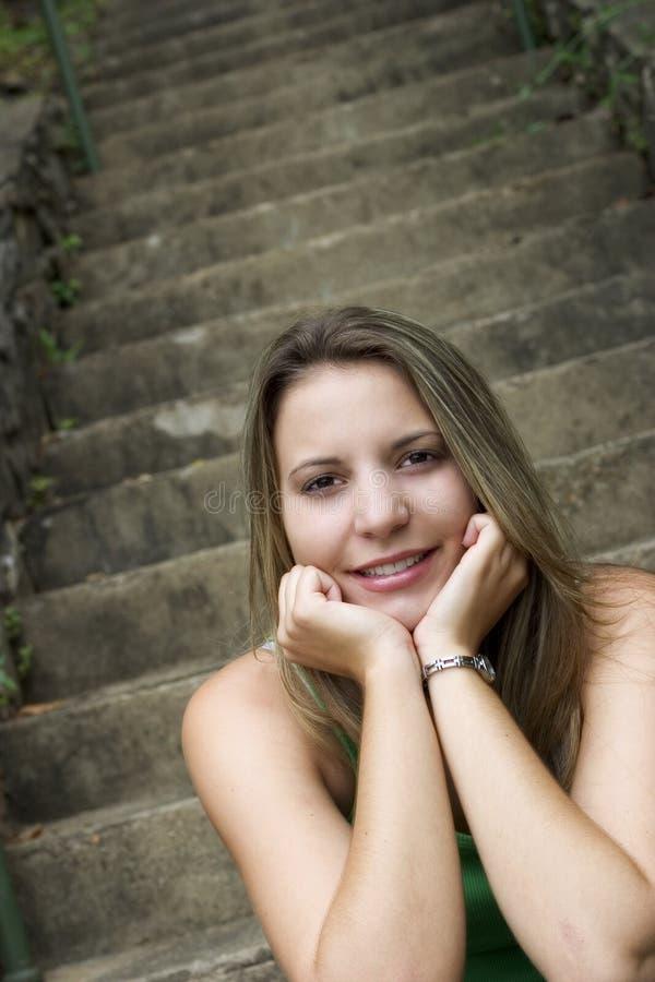 Teen Woman royalty free stock photos