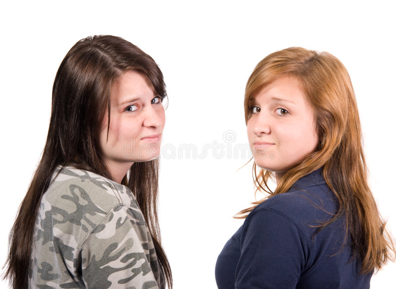 Teenage Attitude royalty free stock image