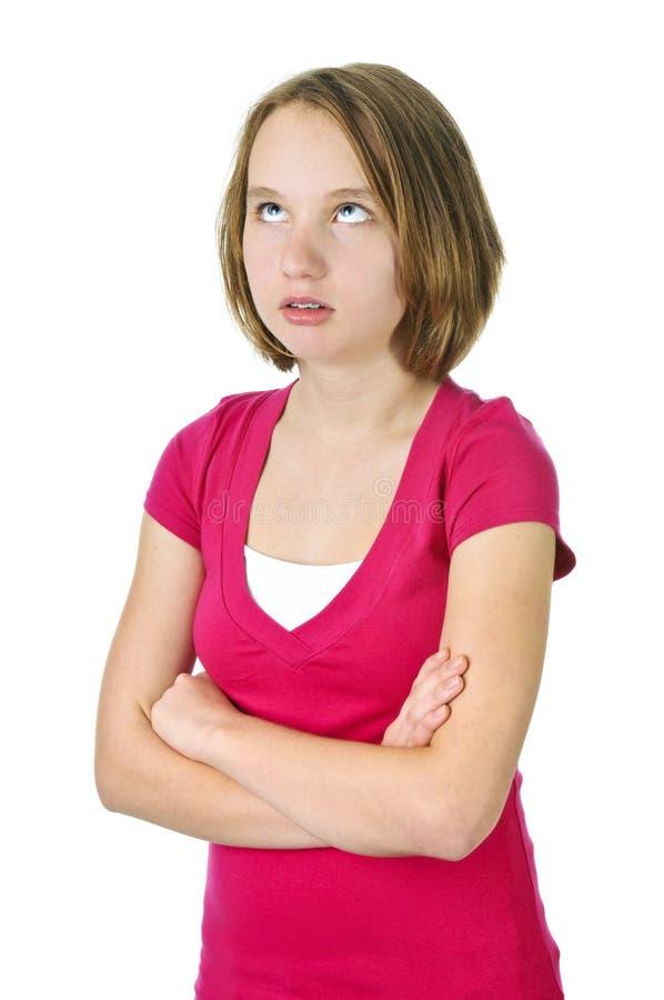Teenage With Attitude Stock Photo