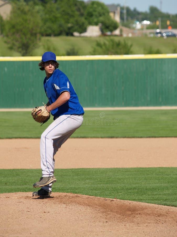 Download Teenage baseball pitcher stock photo. Image of baseball - 10981046