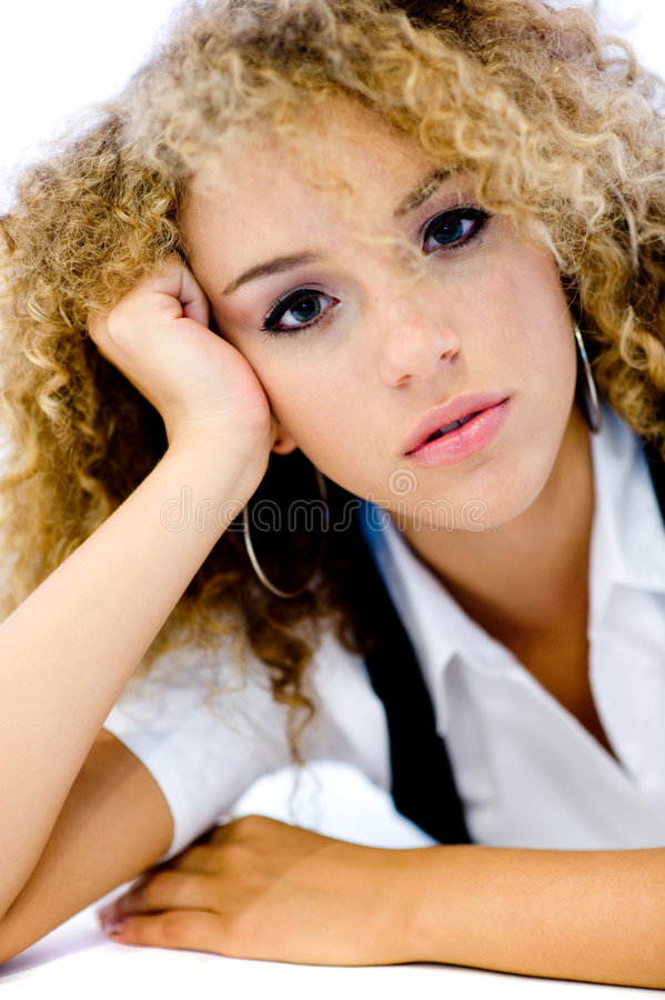 Teenage Beauty stock photo