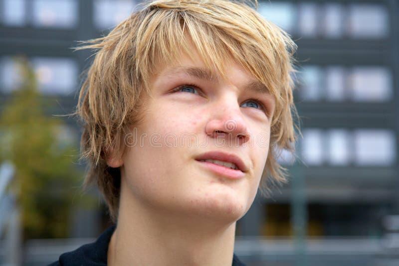 Download Teenage Boy stock photo. Image of european, adolescent - 6075560