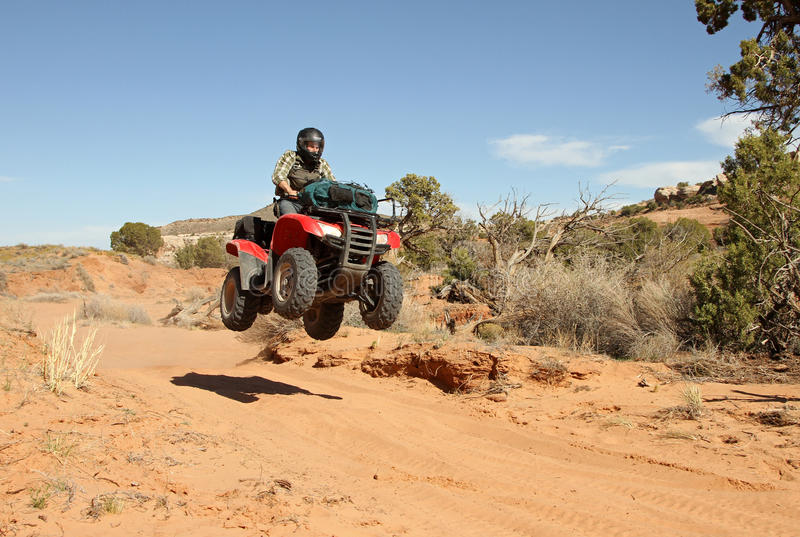 Download Teenage Boy Driving All Terrain Vehicle (ATV). Stock Photo - Image: 25337832