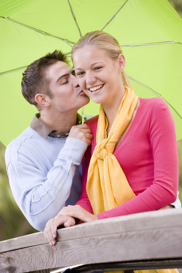 Download Teenage Couple stock image. Image of caucasian, color - 6883765