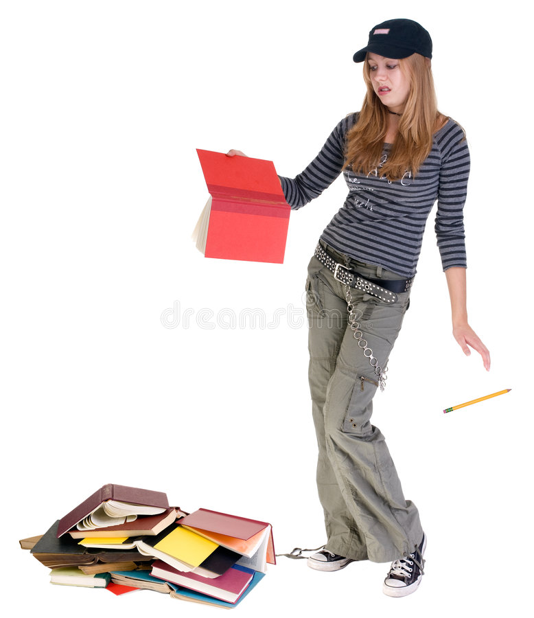 Teenage dropout royalty free stock image