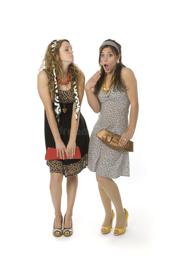 Teenage Fashion Girls royalty free stock images