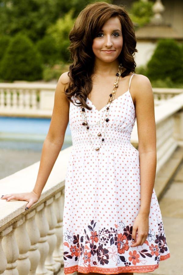 Teenage Fashion Model royalty free stock image