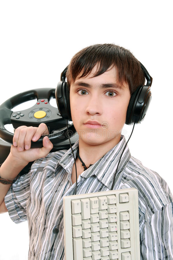 Download Teenage Gamers Stock Images - Image: 11180104
