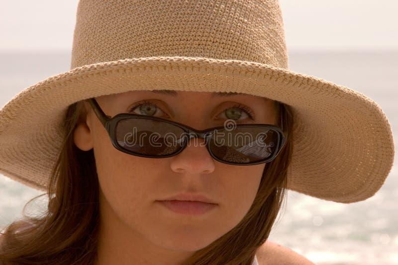 Download Teenage girl stock image. Image of girl, ocean, suntan - 101431