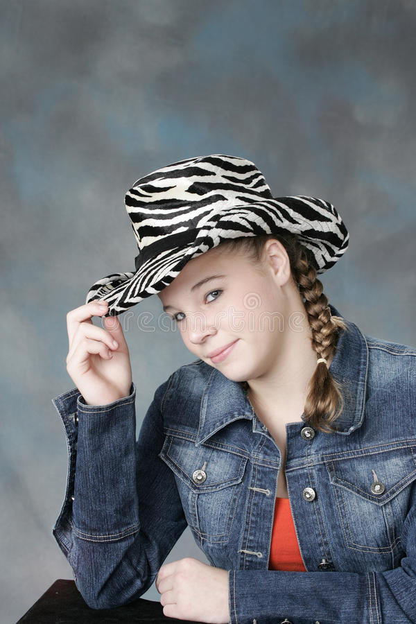 Download Teenage girl stock photo. Image of brunette, model, pretty - 13424518