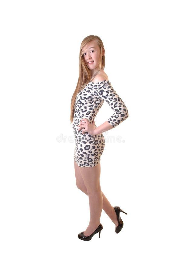 Teenage girl. royalty free stock image