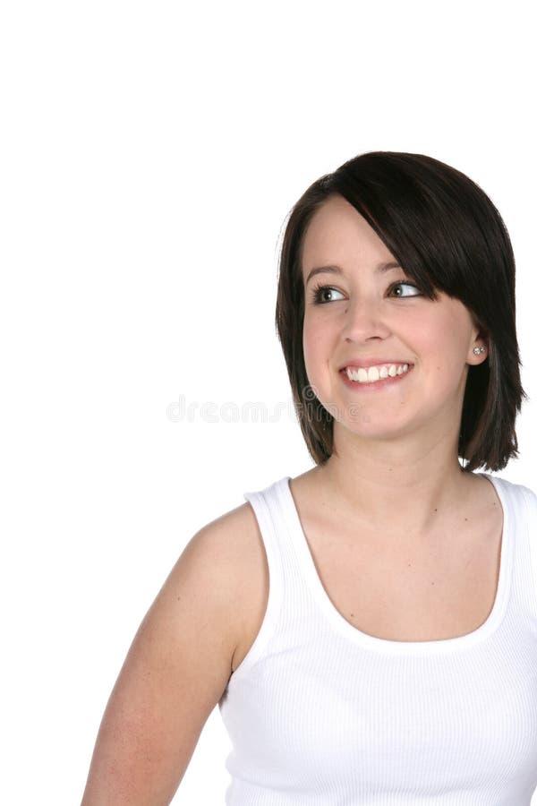 Teenage girl with beautiful skin