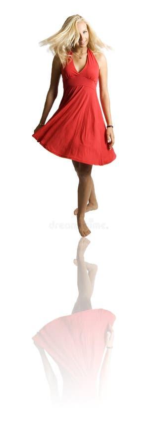 Free Teenage Girl Is Swirling Around Stock Image - 6276821
