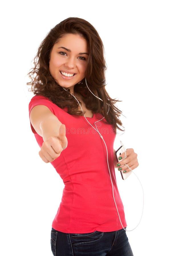 Download Teenage Girl Listen Music Royalty Free Stock Photos - Image: 29257868