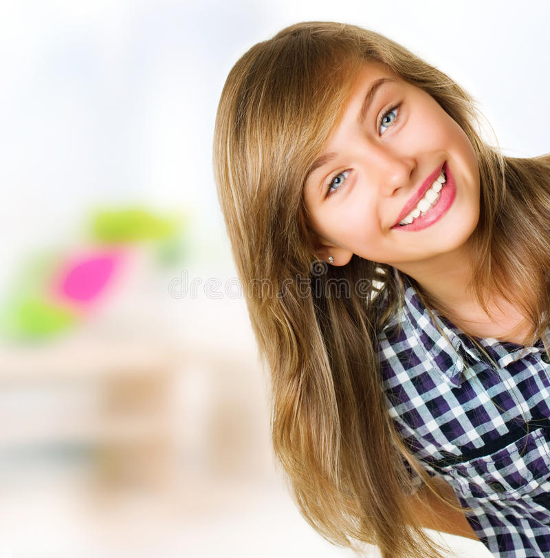 Teenage Girl Portrait royalty free stock photography