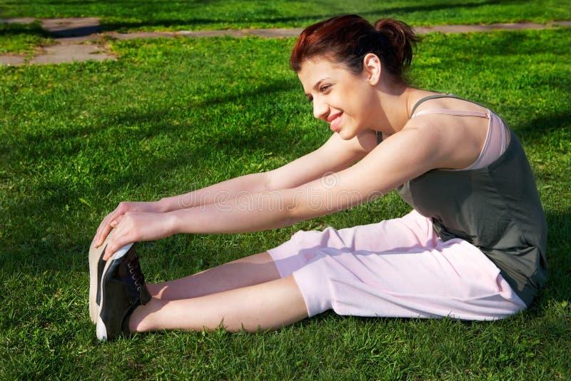 Download Teenage Girl Stretching stock image. Image of jogging - 7738635