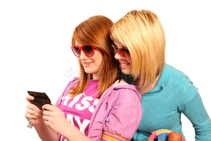 Download Teenage girls stock image. Image of lying, background - 17775361