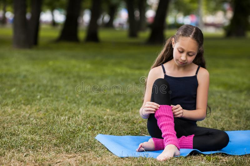 Teenage healthy lifestyle. Outdoor activity royalty free stock photos