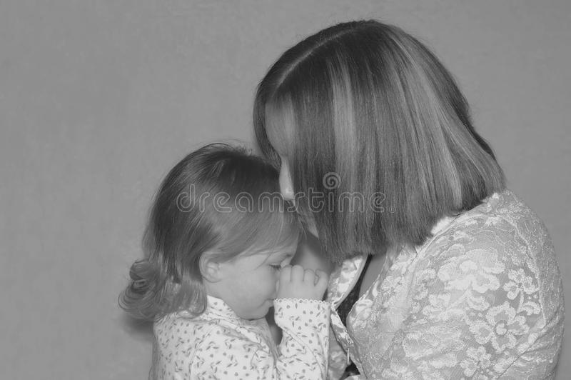Teenage Mother / Sisters Free Stock Image