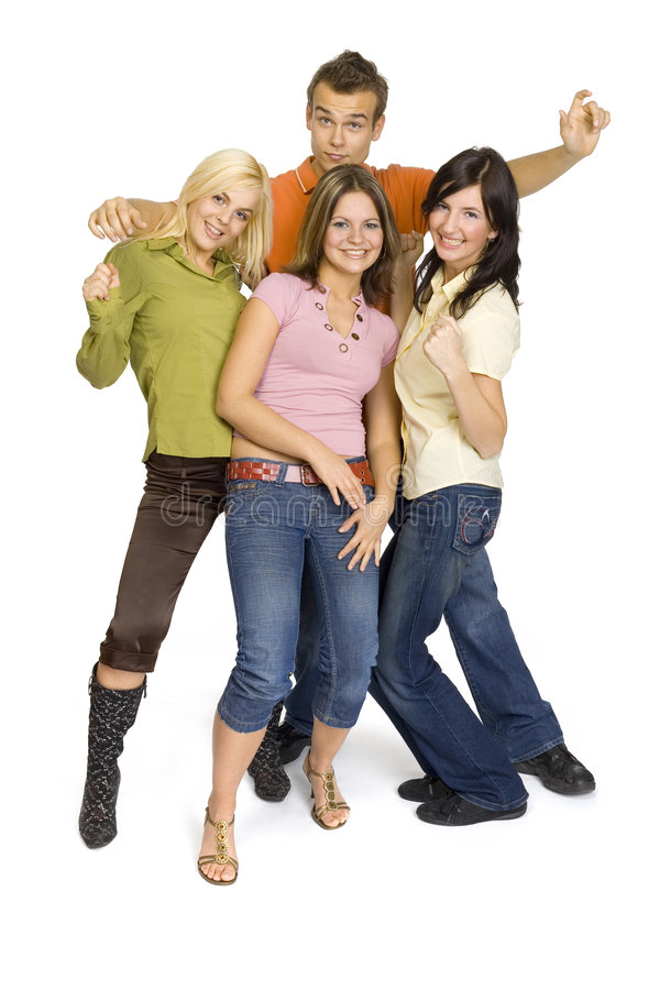 Teenage party stock images