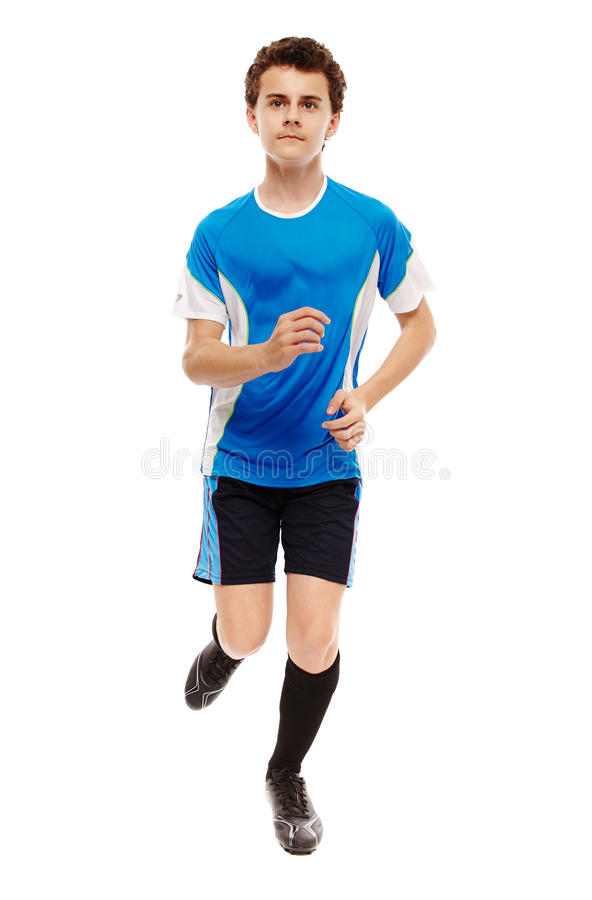 Download Teenage Soccer Player Stock Photo - Image: 40657214