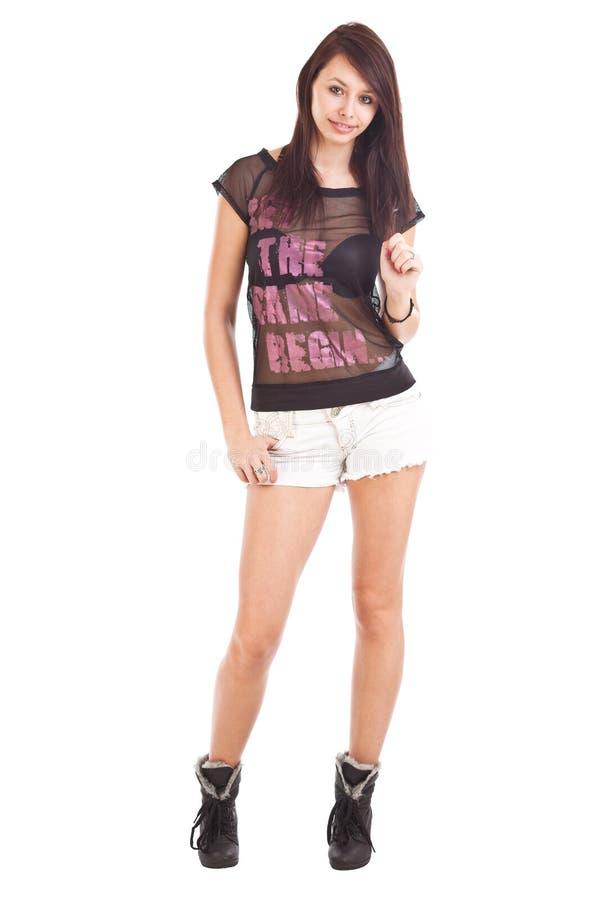 Teenage Wearing Shorts Stock Images