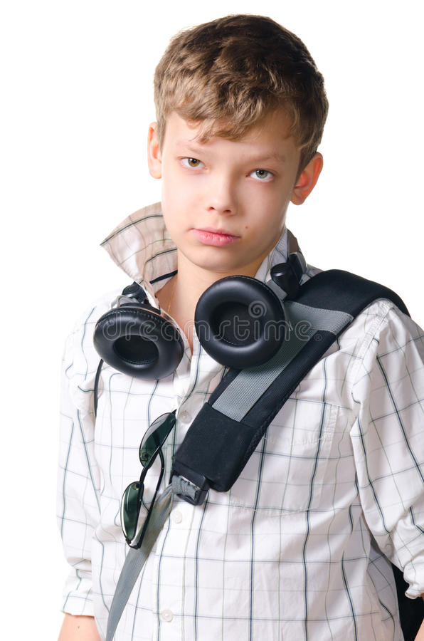 Download Teenager stock photo. Image of camera, backpack, male - 23817054