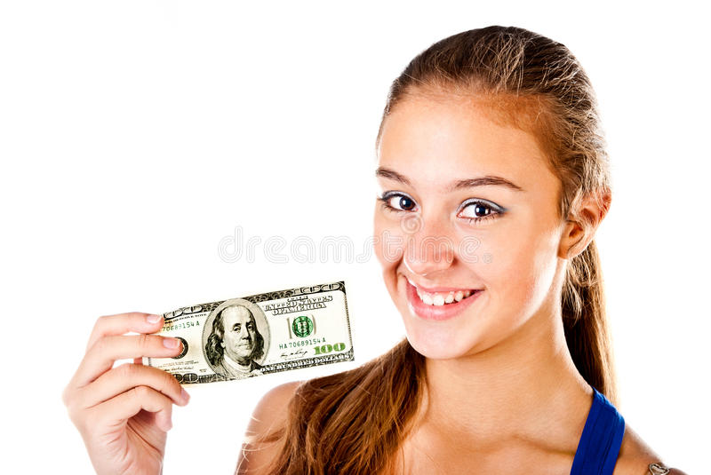Download Teenager stock photo. Image of shot, bill, striped, satisfaction - 27798320