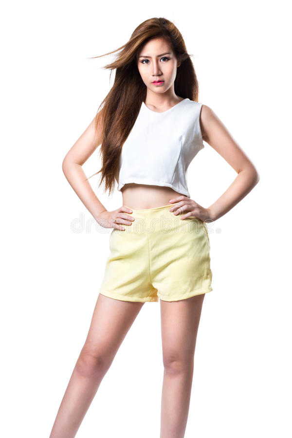 Teenager asian girl stock photography