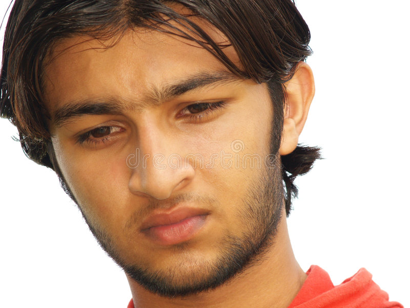 Teenager asiatico triste immagine stock libera da diritti