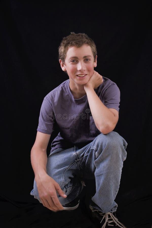 Teenager casuale fotografia stock