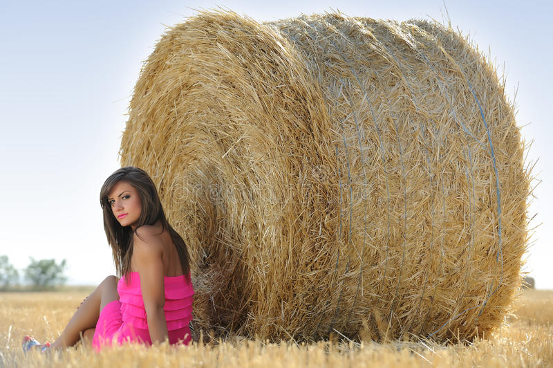 Download Teenager with dress stock image. Image of field, human - 27312369