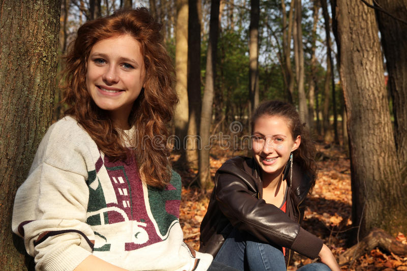 Download Teenager friends stock photo. Image of outdoor, smile - 27872508