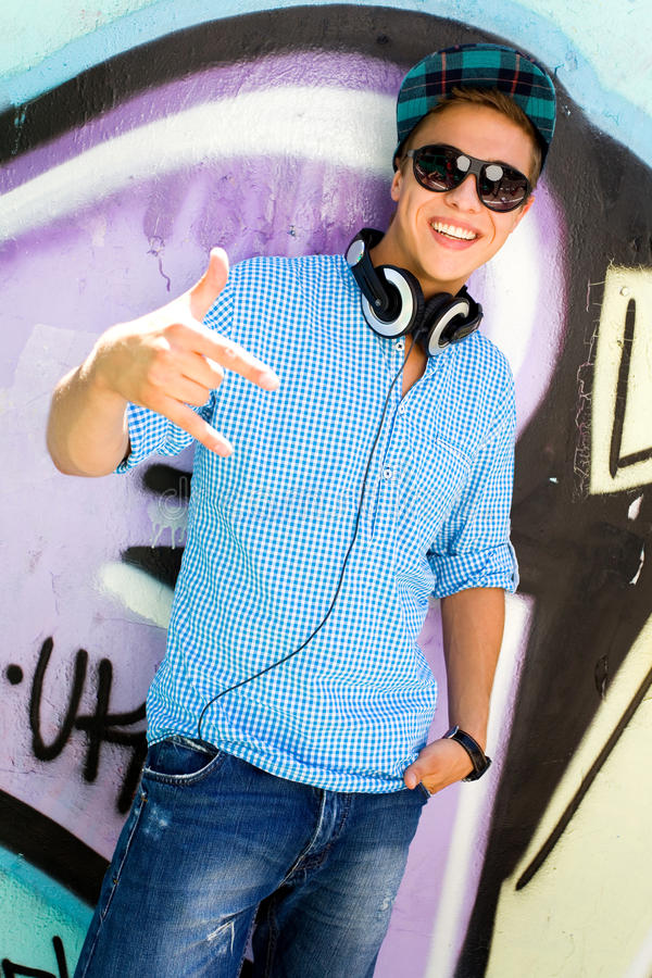 Download Teenager Gesturing Stock Photography - Image: 15200252
