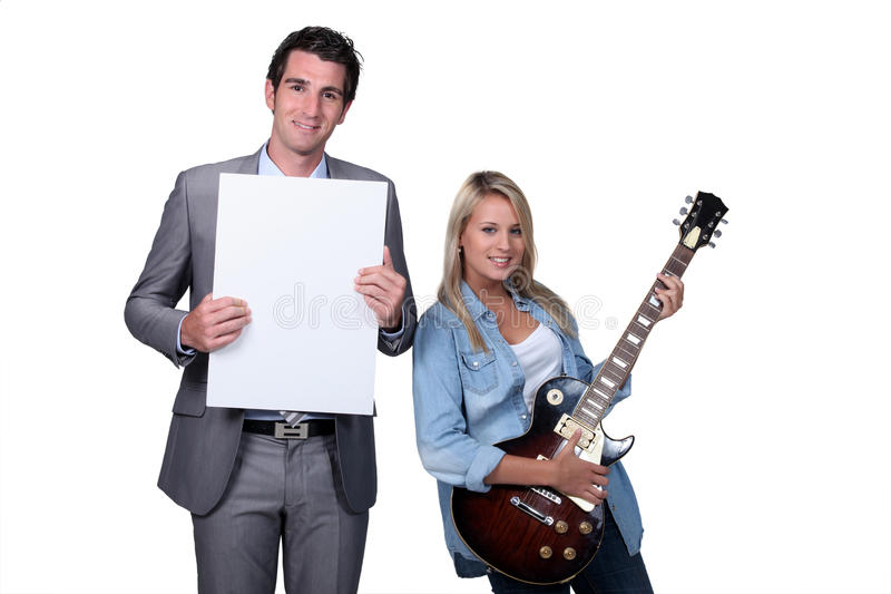 Download Teenager Having A Guitar Lesson Stock Image - Image: 28720731