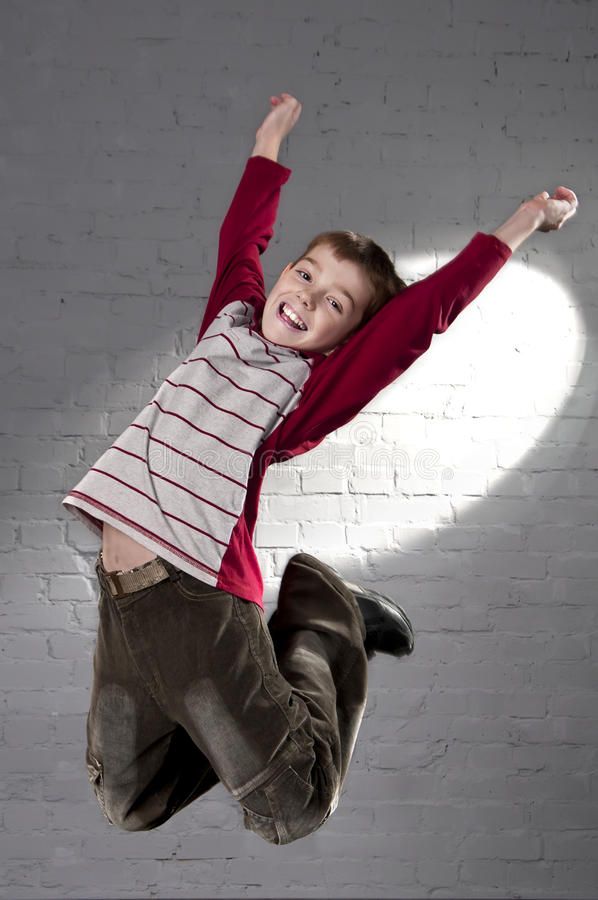 Download Teenager jumping stock photo. Image of successful, laughing - 27625926