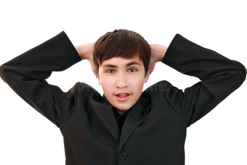 Download Teenager In Mock Horror Stock Image - Image: 11310201