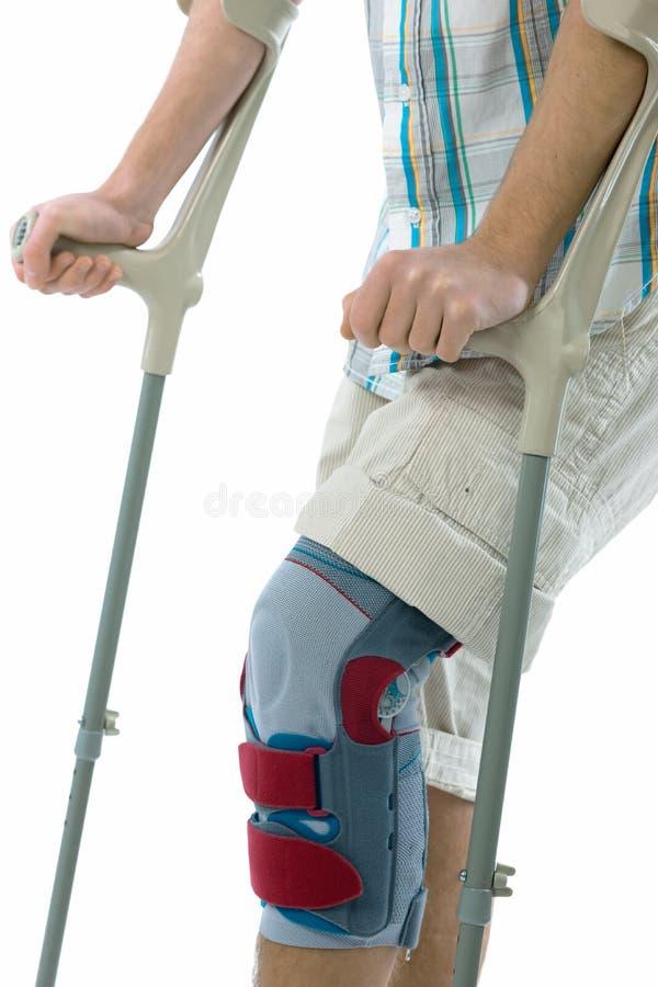 Free Teenager On Crutches Stock Photos - 18225383