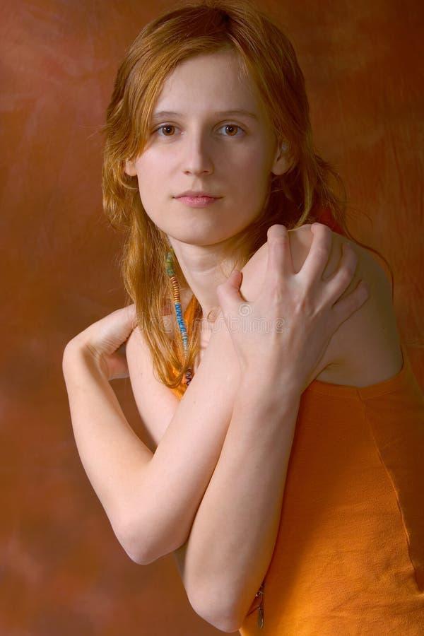 Teenager Portrait Royalty Free Stock Photo