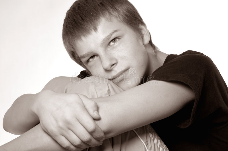 Teenager portrait royalty free stock image