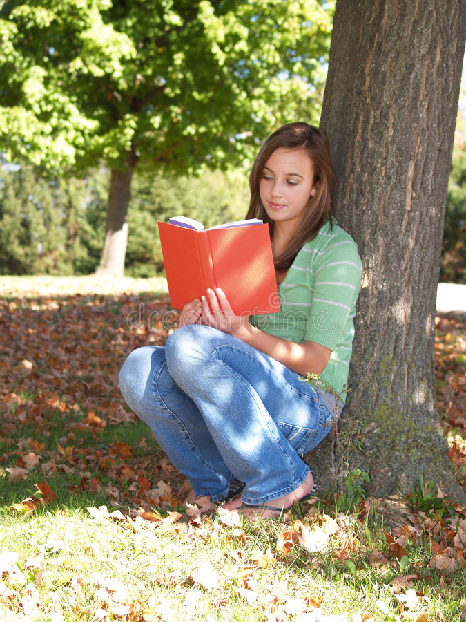 Free Teenager Reading A Book Stock Photo - 3483080