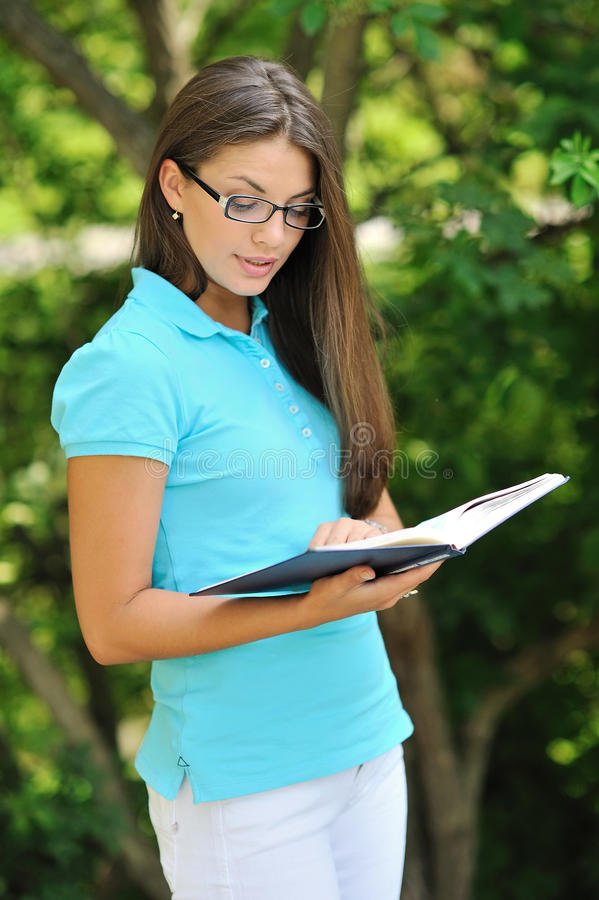 Download Teenager Reading Book And Learn Something Stock Photo - Image: 34978666